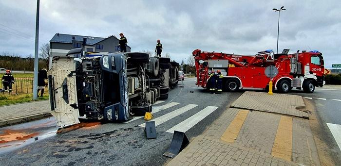 wypadek-ciężarówka