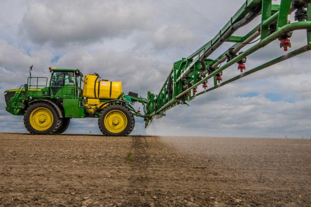 Doglebowe odchwaszczanie kukurydzy