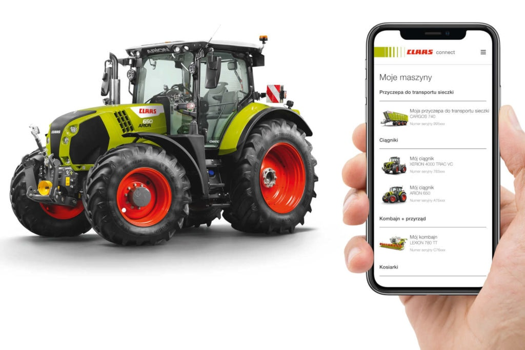 CLAAS connect