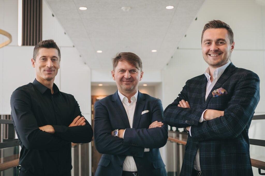 R.Lewandowski, J.Peczka, P.Szwonder, fot. mat. prasowe