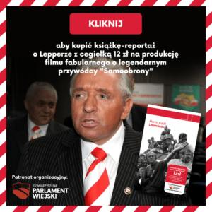 Andrzej Lepper - Lepperiada książka autorstwa Marcina Kackiego