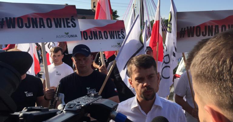 AGRO-Unia wyszła na drogi
