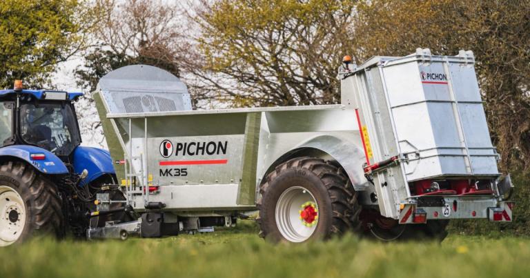 Rozrzutniki nawozu firmy PICHON