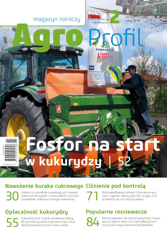 Agro Profil magazyn rolniczy nr 2/2018