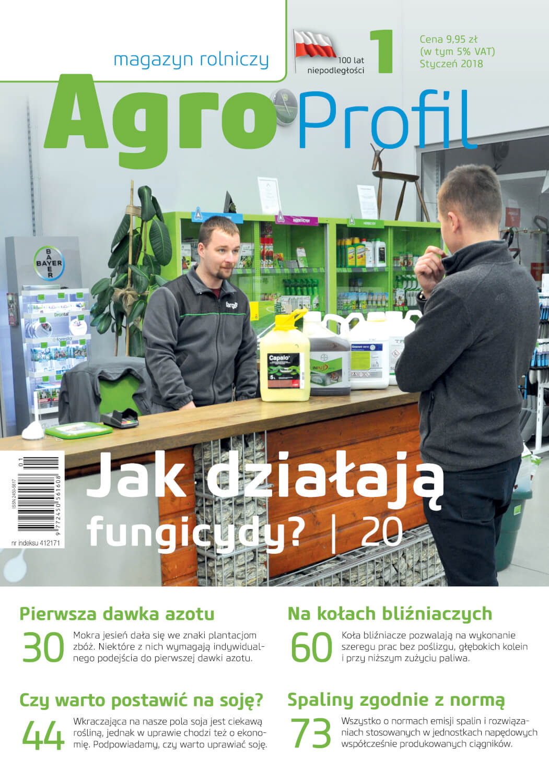 Agro Profil magazyn rolniczy nr 1/2018