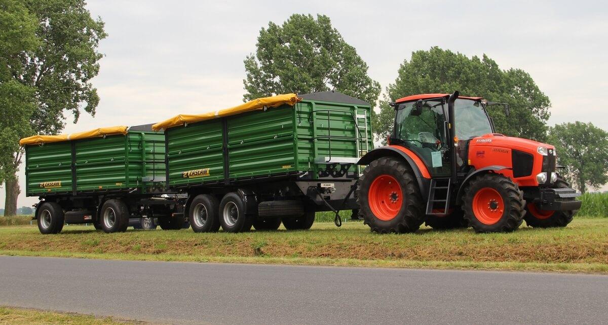 Sprzęganie maszyn z ciągnikiem rolniczym