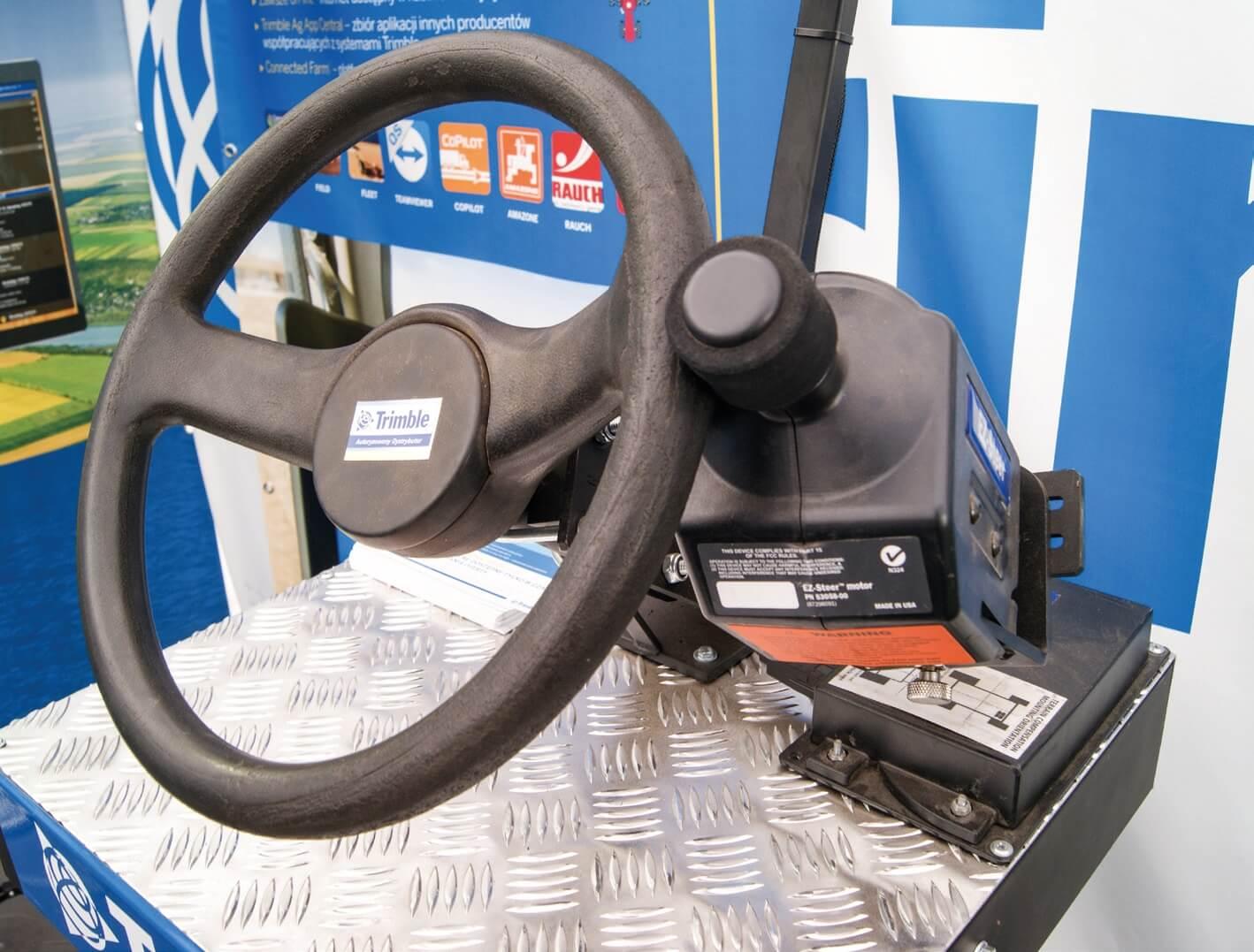 System nawigacji Trimble EZ-Steer