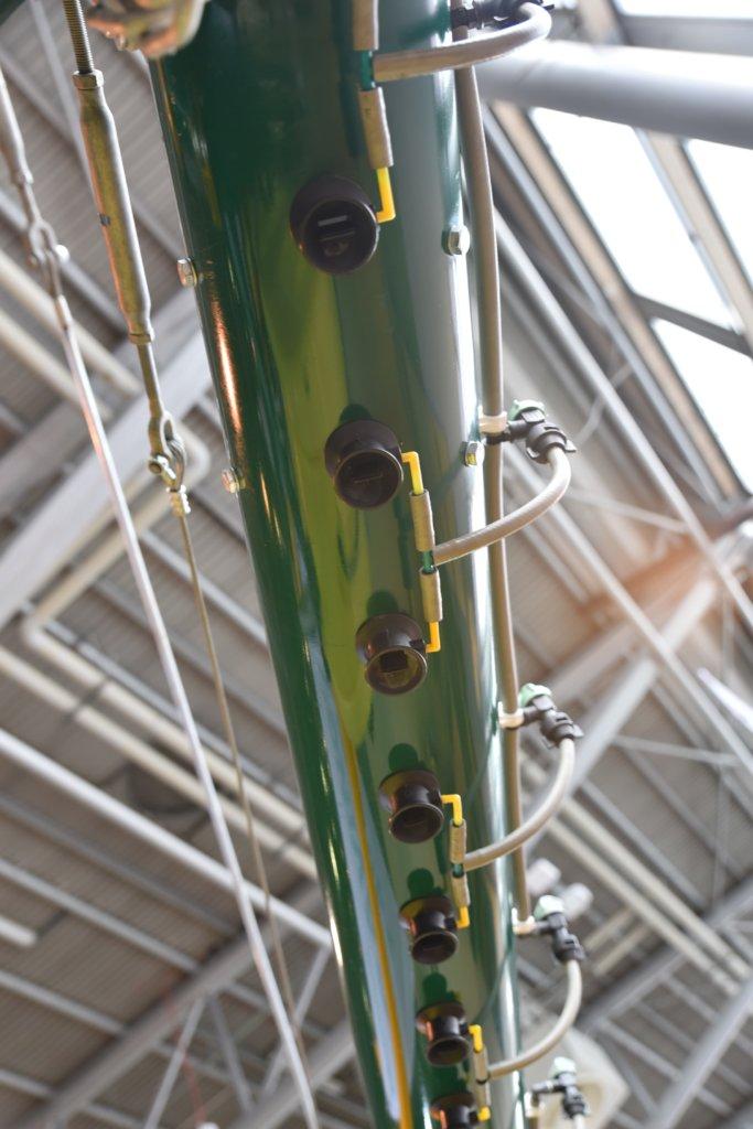 Belka zrozpylaczami pneumatycznymi Danfoil