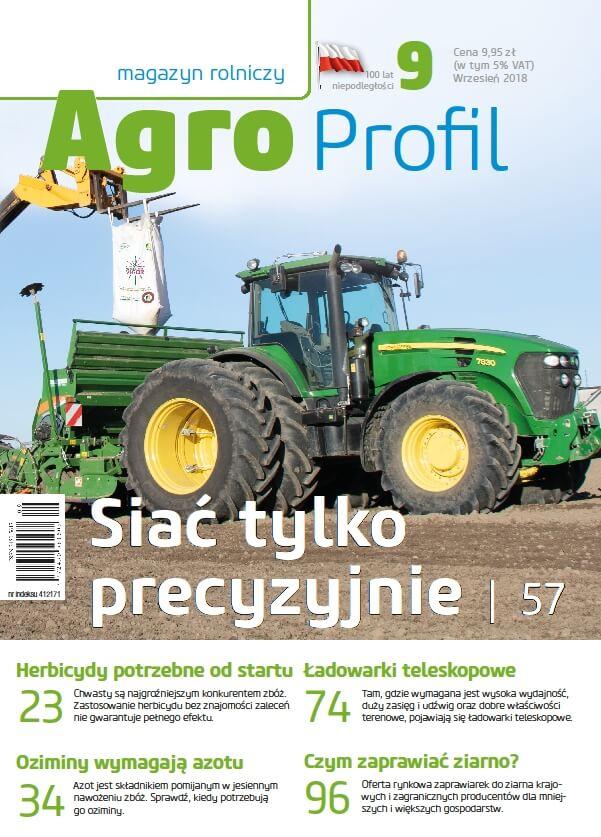 Agro Profil magazyn rolniczy nr 9/2018