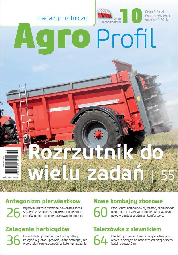 Agro Profil magazyn rolniczy nr 10/2018