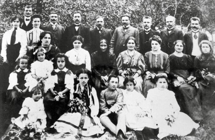Zdjęcie rodzinne Grynów