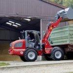 Ładowarka  przegubowa  – prawa ręka rolnika