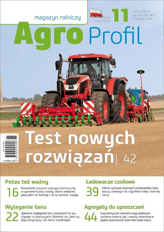 Agro Profil magazyn rolniczy nr 11/2018