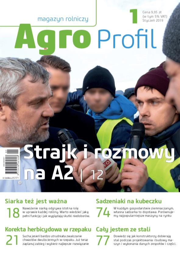 Agro Profil magazyn rolniczy nr 1/2019