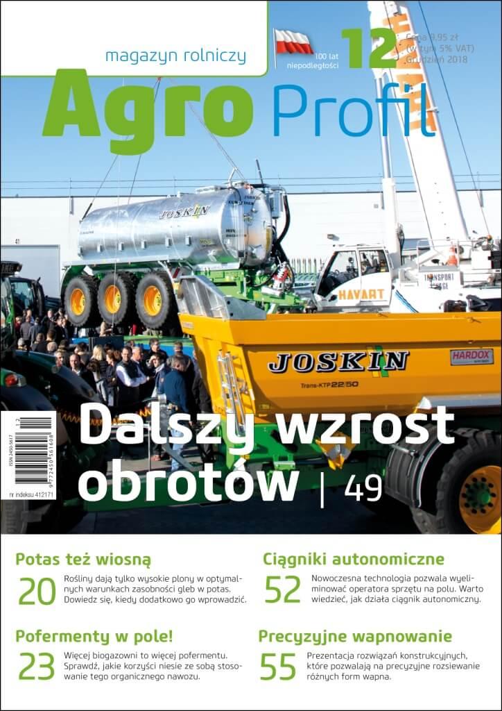 Agro Profil magazyn rolniczy nr 12/2018