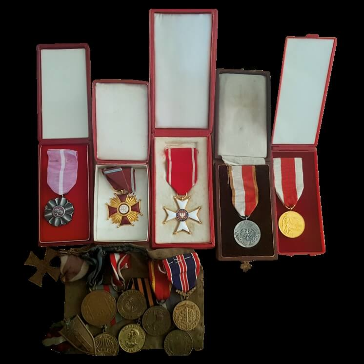 Medale i odznaczenia