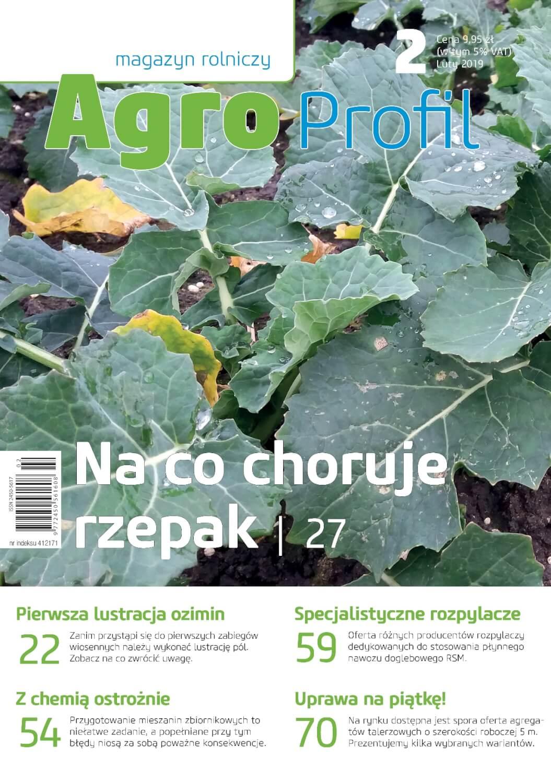 Agro Profil magazyn rolniczy nr 2/2019