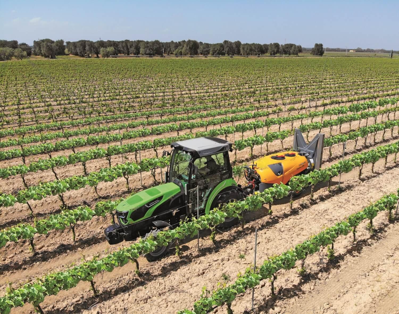 Ciągnik sadowniczy Deutz-Fahr 5DS TTV