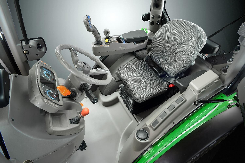 Kabina ciągnika sadowniczego Deutz-Fahr 5DS TTV